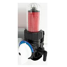 Filtr dyskowy ręczny do montazu przed zmiękczaczem wody.
